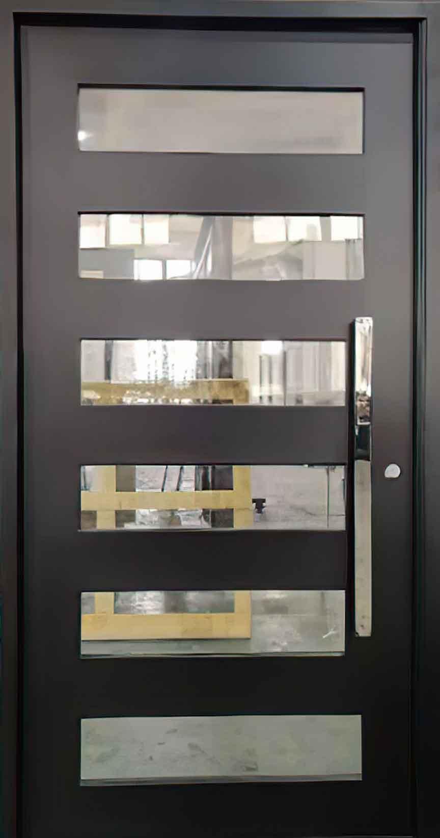The Smith Iron Pivot Door